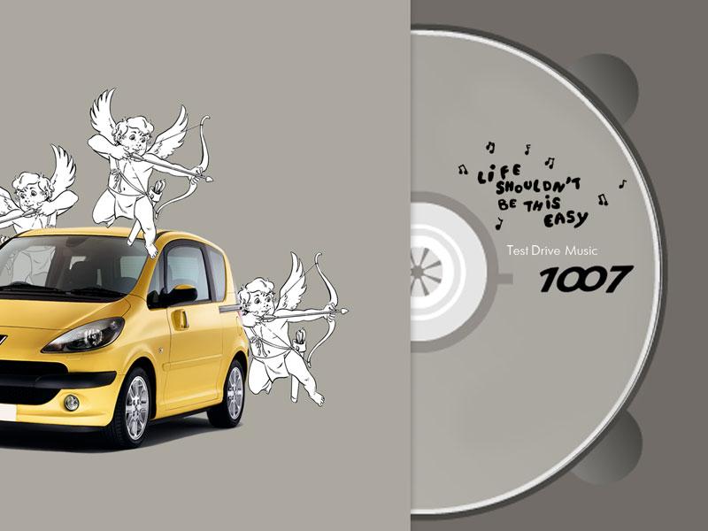 Тест драйв CD для Peugeot 1007